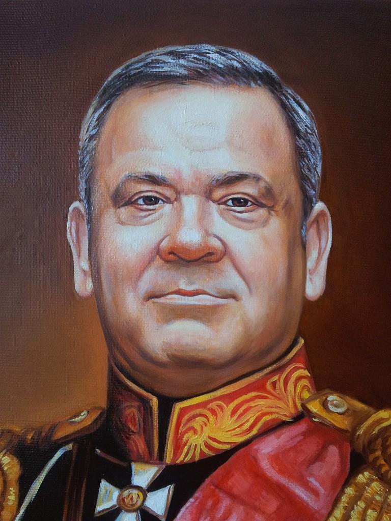 Портрет маслом на холсте в Иваново