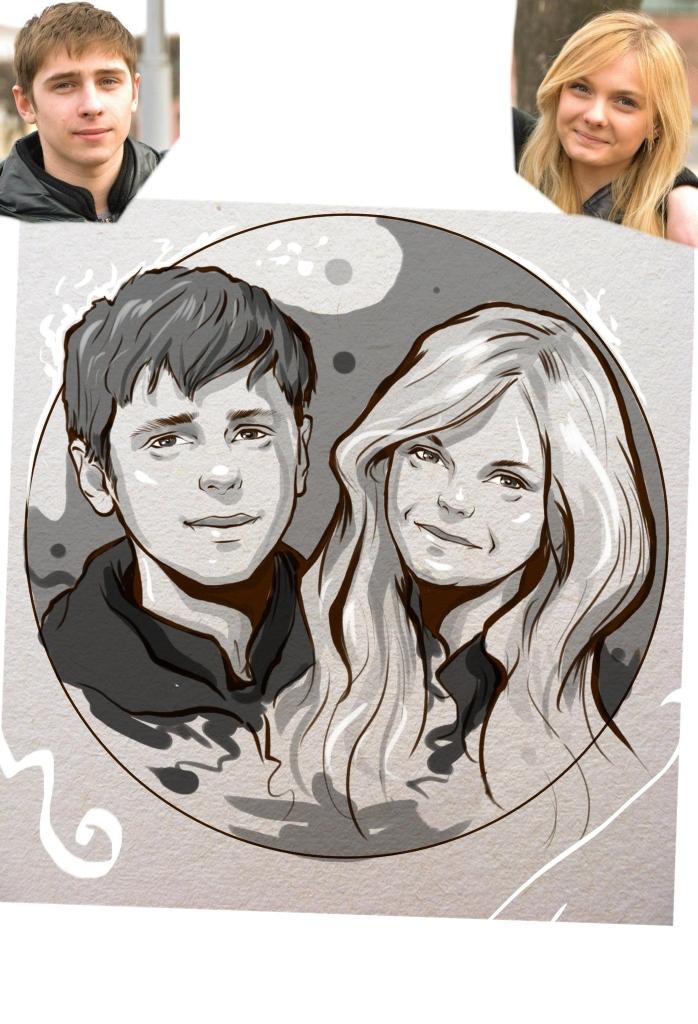 Заказать портрет на годовщину свадьбы в Иваново