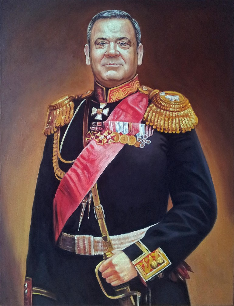 Где заказать портрет маслом в Иваново?
