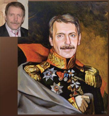 Настоящий портрет маслом на заказ в Иваново…