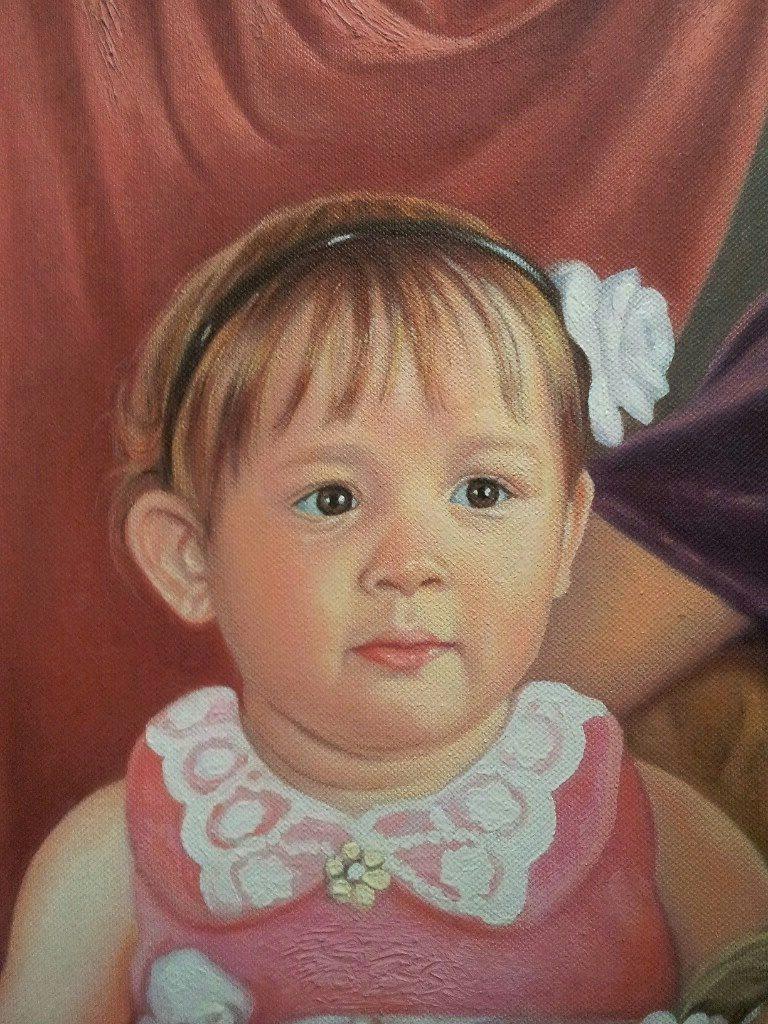 Портрет маслом семейный Иваново