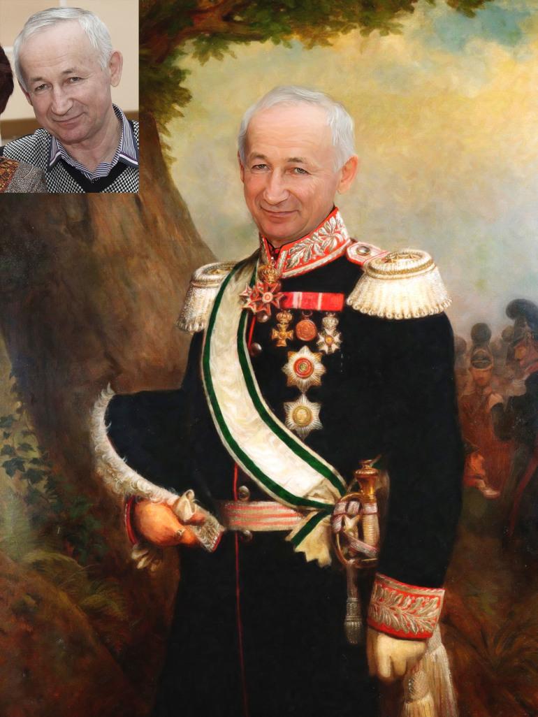 Где заказать исторический портрет по фото на холсте в Иваново?