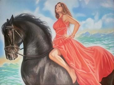 Настоящий портрет маслом на холсте в Иваново…