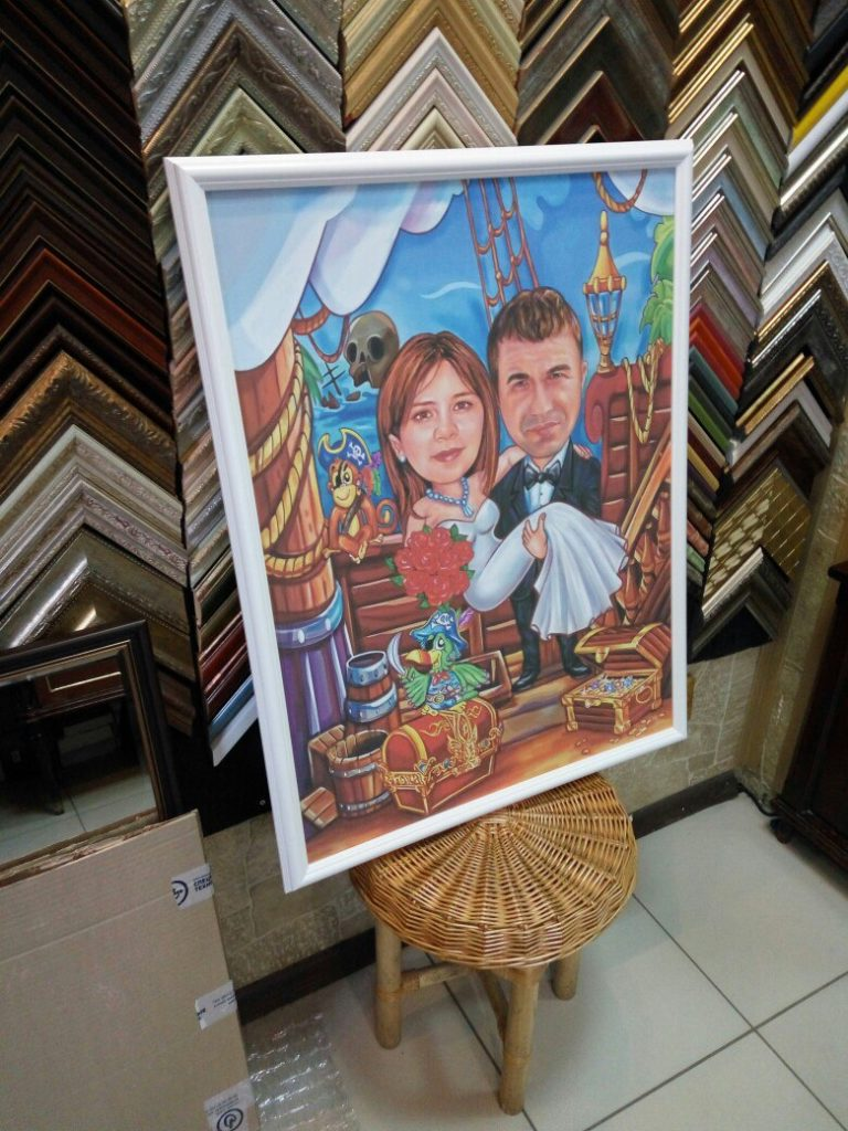 портрет шарж на заказ в Иваново