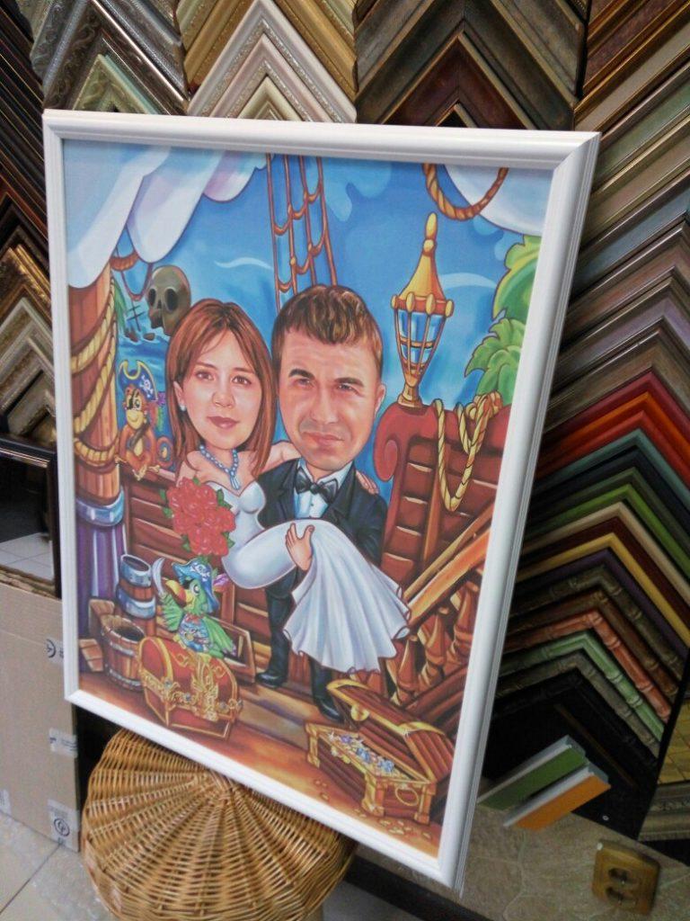 шарж по фото на заказ в Иваново
