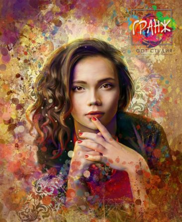 Портрет по фото, подарок на 14 февраля Иваново