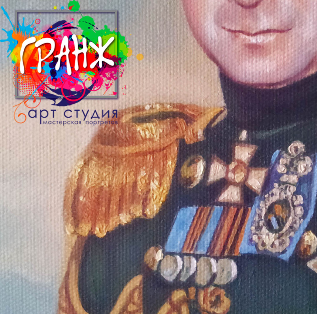 Заказать портрет маслом по фотографии в Иваново
