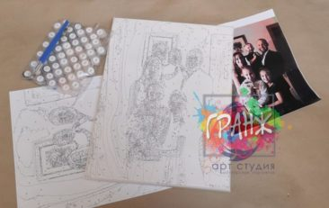 Картина по номерам по фото, портреты на холсте и дереве в Иваново