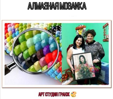 Заказать алмазную мозаику по фото с доставкой в Иваново